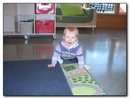 Emeli i barnehagen